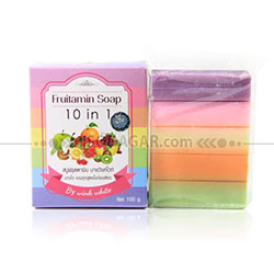 FRUITAMIN SOAP 10in1 (by Wink White)