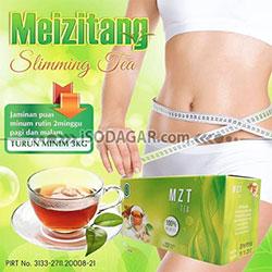 MEIZITANG SLIMMING TEA (Pelangsing Tubuh)