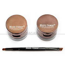 MUSIC FLOWER EYEBROW & EYELINER