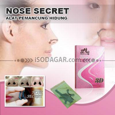 NOSE SECRET 3D ORIGINAL (Alat Pemancung Hidung)