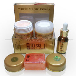 PAKET MAGIC CREAM KOREA + SERUM KOREA